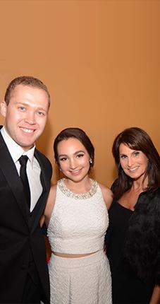 Emily, Andrea & Dr. Brian Bear