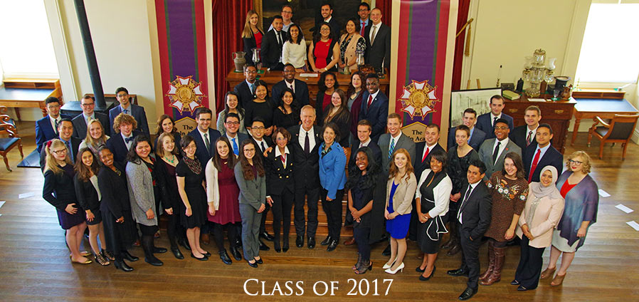 The Lincoln Academy of Illinois Student Laureate Class of 2017