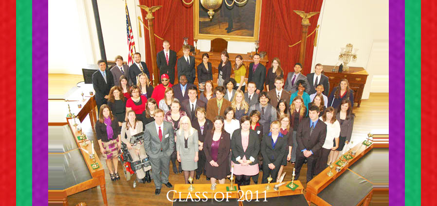 The Lincoln Academy of Illinois Student Laureate Class of 2011