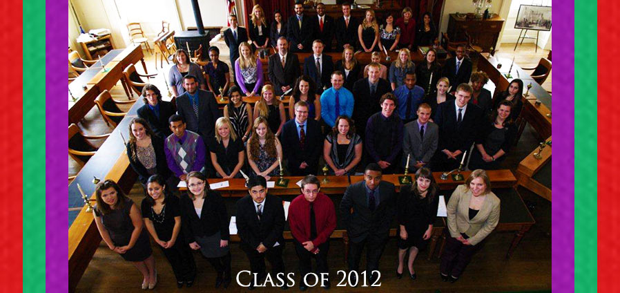 The Lincoln Academy of Illinois Student Laureate Class of 2012