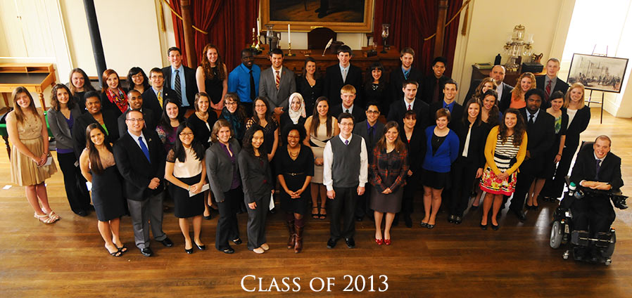 The Lincoln Academy of Illinois Student Laureate Class of 2013