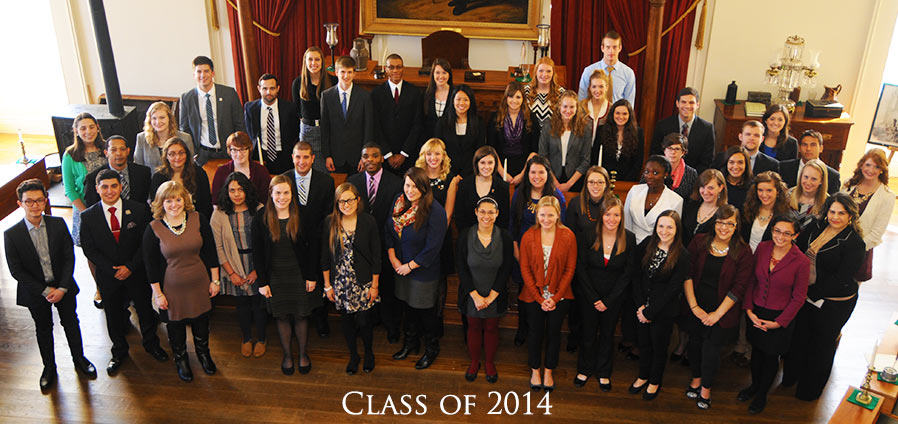 The Lincoln Academy of Illinois Student Laureate Class of 2014