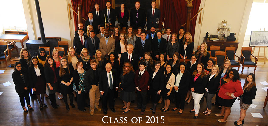 The Lincoln Academy of Illinois Student Laureate Class of 2015