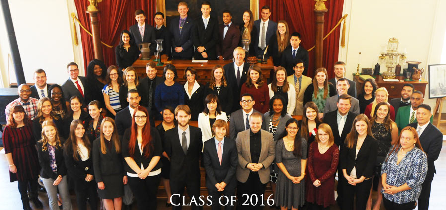 The Lincoln Academy of Illinois Student Laureate Class of 2016