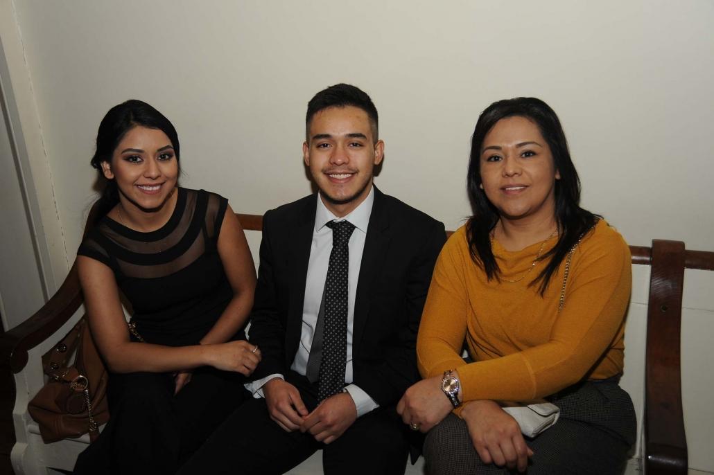 Hernan Ramirez, Aurora University with guests