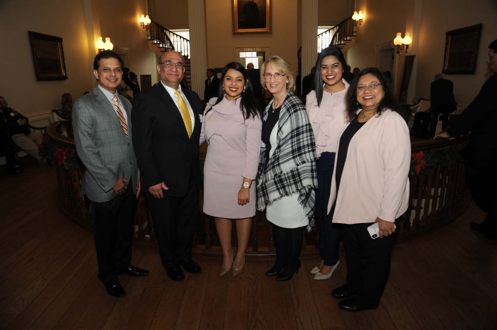 Pooja J. Shah, Robert Morris University and guests