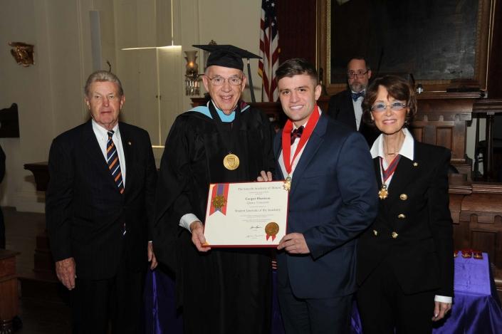Cooper Harrison, Quincy University