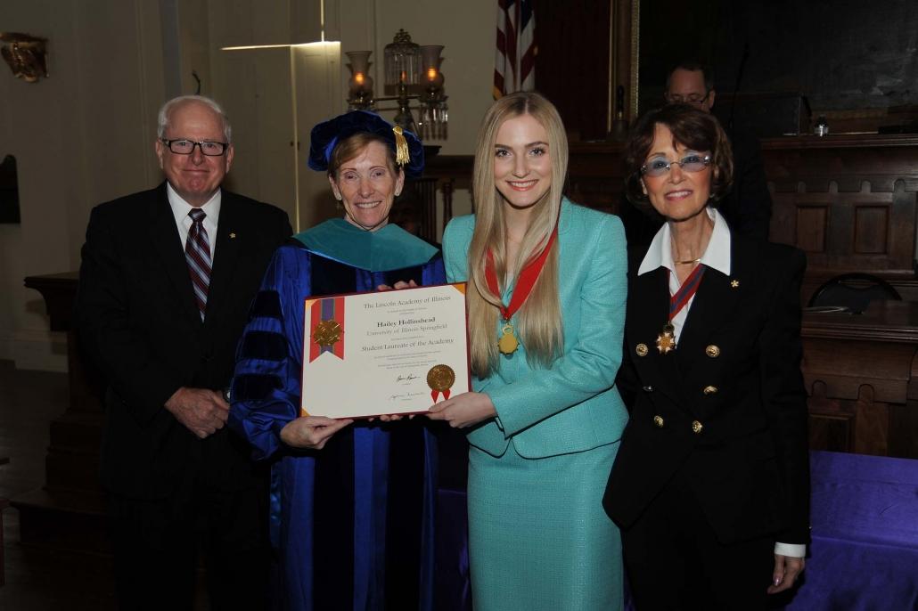 Hailey Hollinshead, University of Illinois Springfield