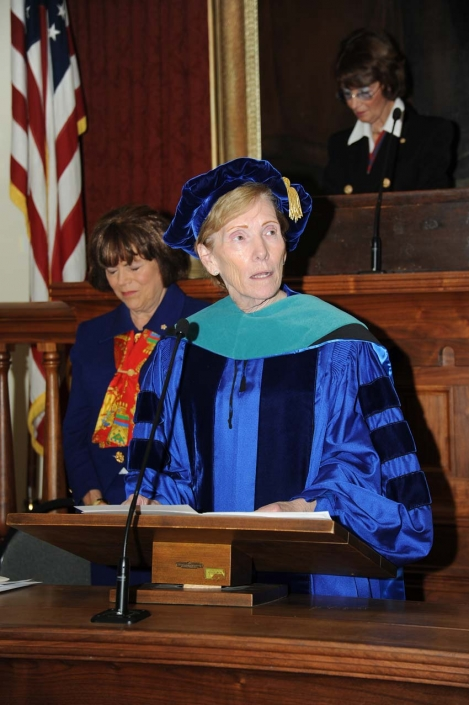 Benediction, Dr. Susan J. Koch, Chancellor of the University of Illinois Springfield
