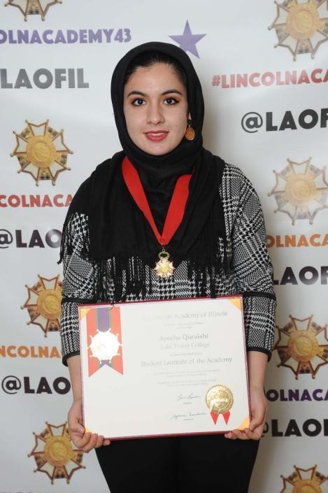 Ayesha Quraishi, Lake Forest College