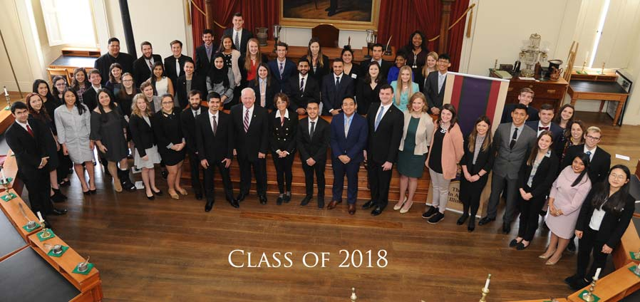 The Lincoln Academy of Illinois Student Laureate Class of 2018