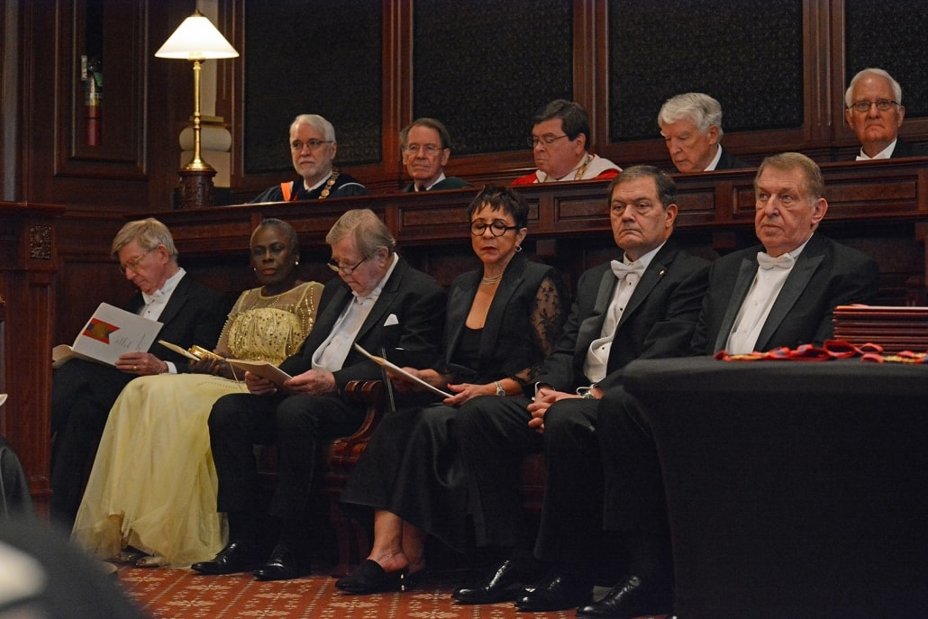 Laureates Seated